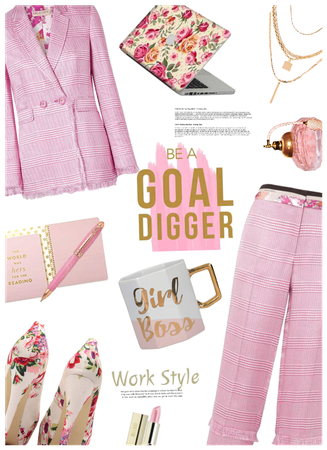 Goal Digger! Boss Woman/Work Style