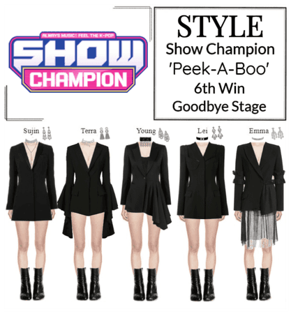 STYLE Show Champion 'Peek-A-Boo' Goodbye Stage