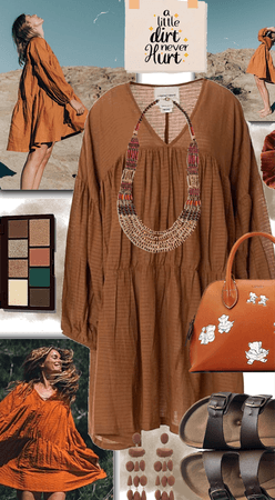 Earth Tones Summer to Autumn