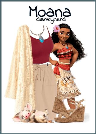 Moana Disney Bound