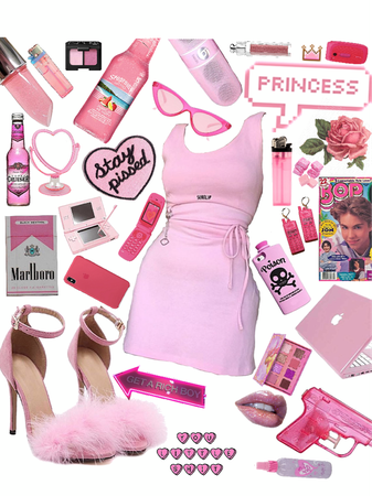 hot pink angel