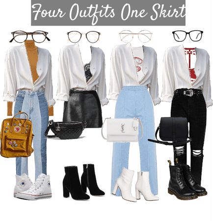 Four Outfits One Shirt