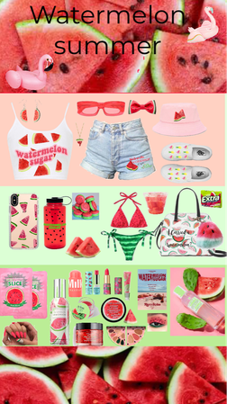 watermelon summer outfit