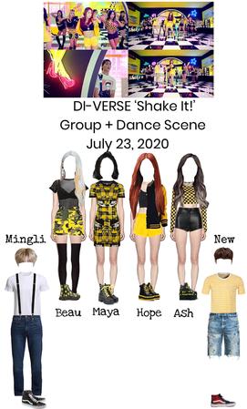 DI-VERSE 'Shake It!' MV Group + Dance Scene