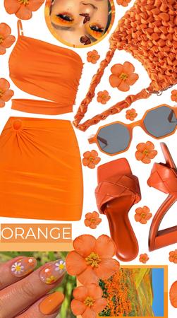 Outshining in Orange
