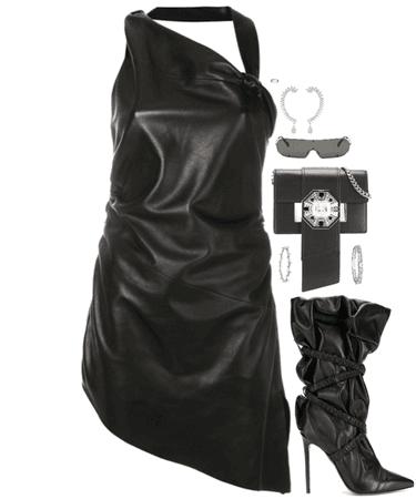 leather bad girl