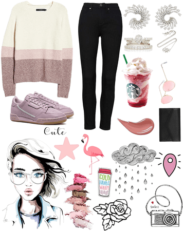 pink fall chic