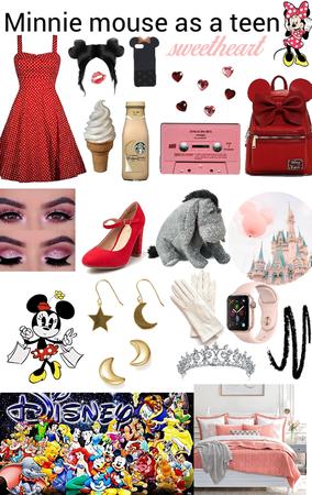 Minnie Mouse as a teen! x