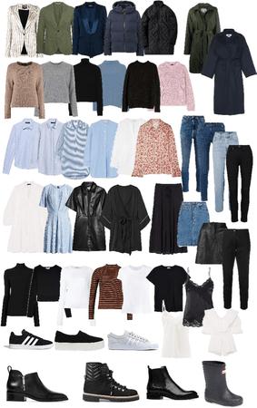 Efterår/vinter garderobe