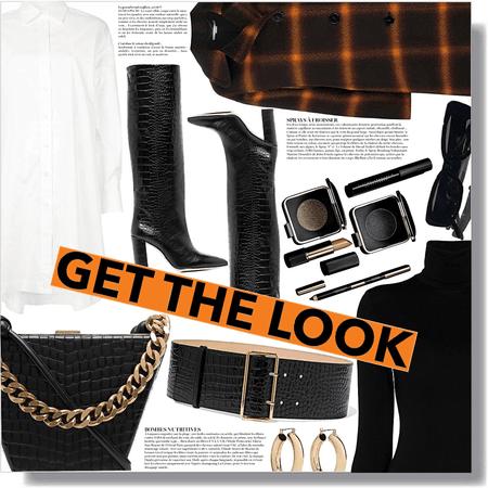 get the look: hint of orange 🧡