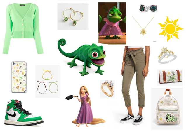 """Disney Minor Characters - Pascal from """"Tangled"""""""
