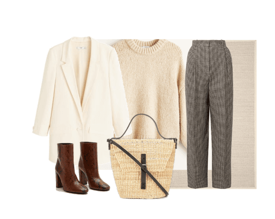 beige , calm and cozy