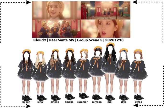 Cloud9 (구름아홉) | Dear Santa MV Scene 8 | 20201218