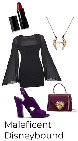 Maleficent Disneybound