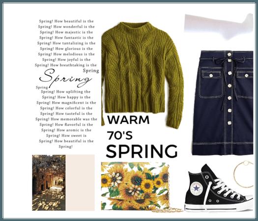 Warm 70s Spring