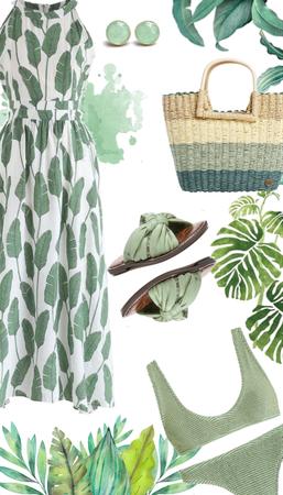 Summer Palm Green