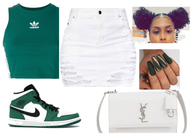 #Adidas #Nike #Green #Girly