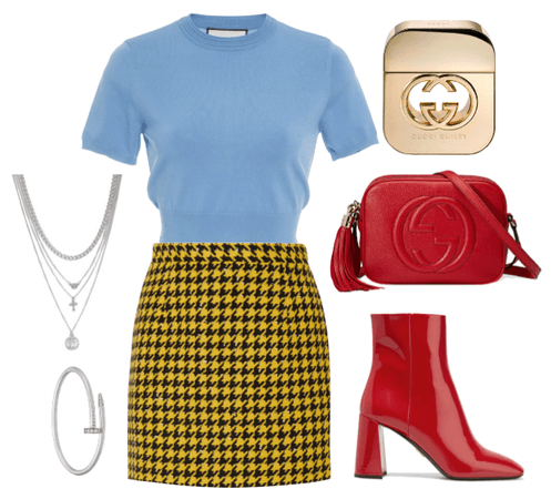 Triadic Color Scheme Outfit