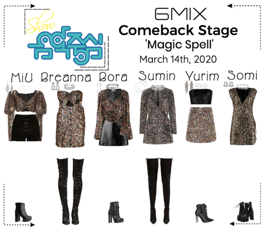 《6mix》Show! Music Core Comeback Stage
