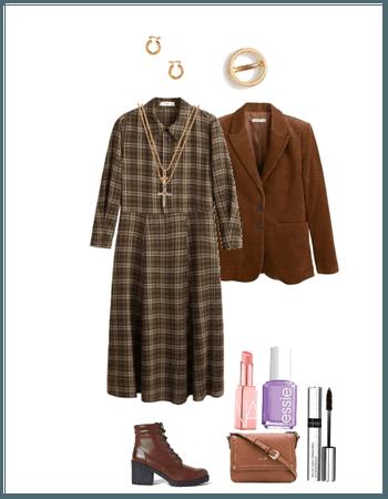 Plaid dress (Annie)