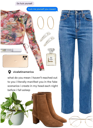 Sassy pretty girl outfit