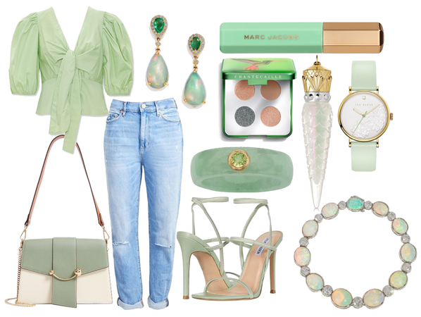 Matcha Coloured Outfit