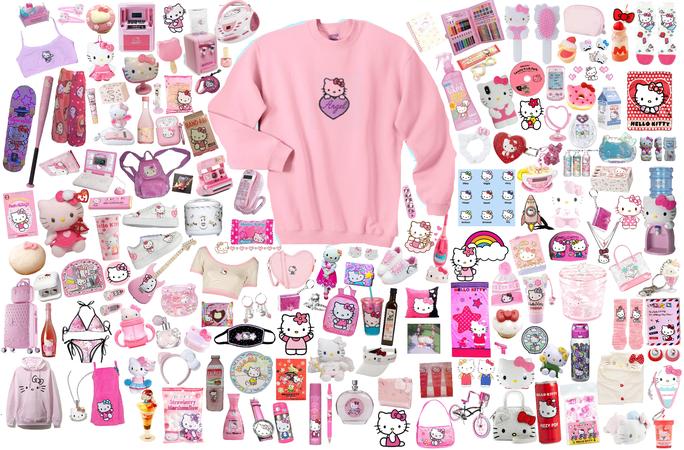 Hello Kitty 🌸🎀💕