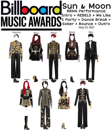 Sun & Moon Billboard Music Awards Performance