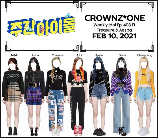 CROWNZ*ONE Weekly Idol Ep. 498