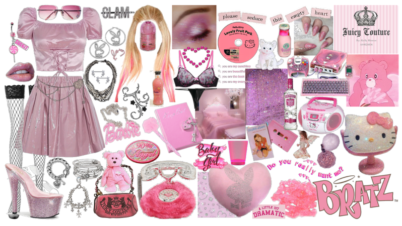 2000s pink glam