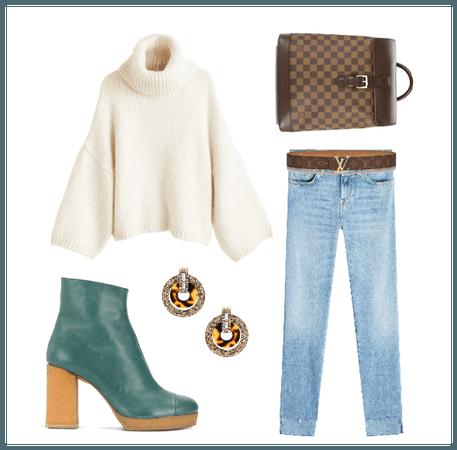 Chunky: Knit, Heel, & Earring