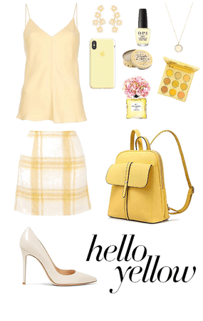 Muted Pastels Look: Yellow