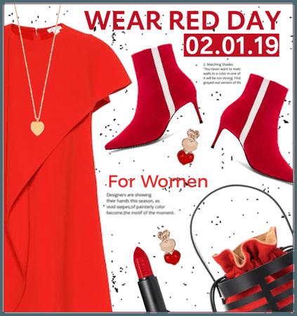 Wear Red For Women 2/1/19