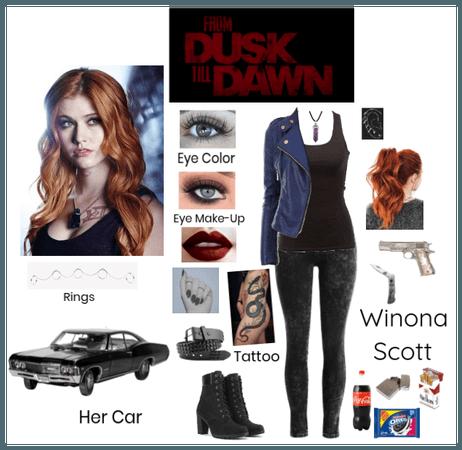 From Dusk Till Dawn: Winona Scott (OC)