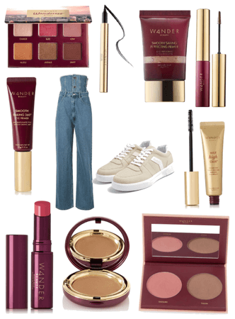 Glam with wander beauty