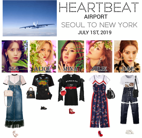 [HEARTBEAT] AIRPORT | SEOUL TO NEW YORK