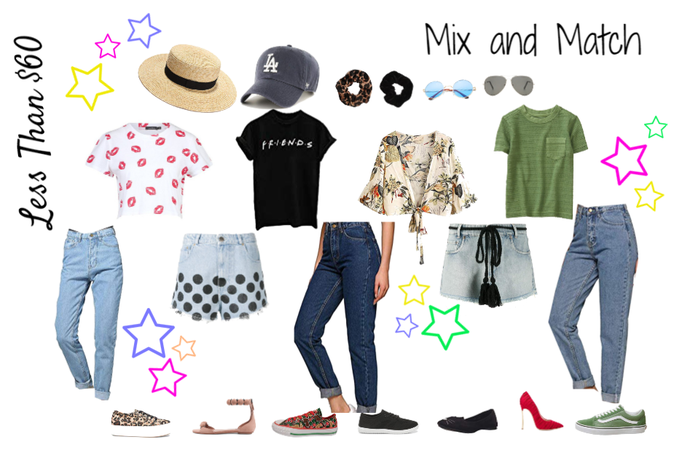 Mix and Match less than $60