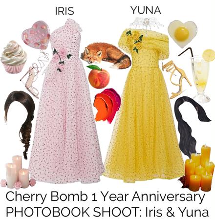 Cherry Bomb 1 Year Anniversary PHOTOBOOK SHOOT: Iris & Yuna