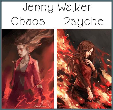 Jenny Walker as Chaos & Psyche