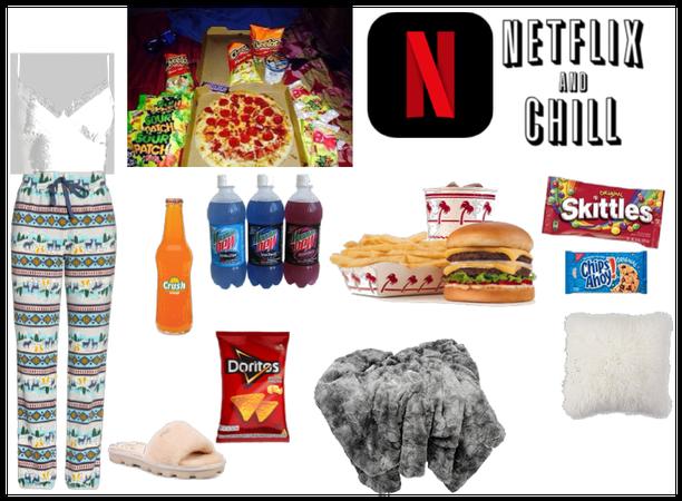 Netflix and chill🤫👌😍