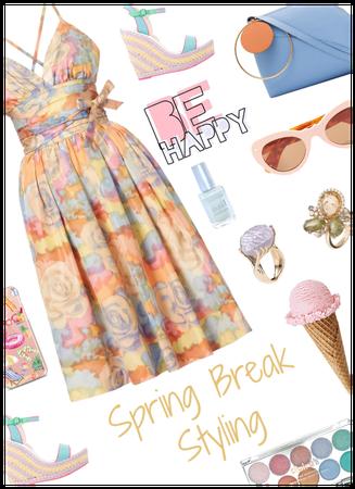 Spring Break styling. Pretty pastels