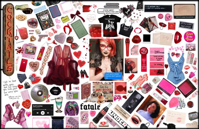 Cherry Stems - Moodboard