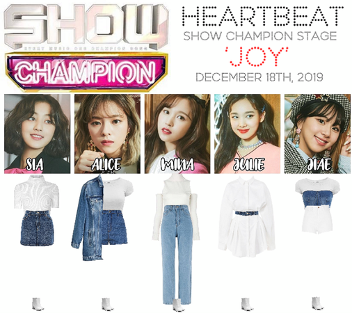[HEARTBEAT] 121819 SHOW CHAMPION STAGE | 'JOY'