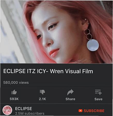 ECLIPSE IT'Z ICY Wren Visual Film