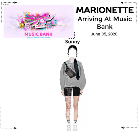 MARIONETTE (마리오네트) [SUNNY] Arriving At Music Bank