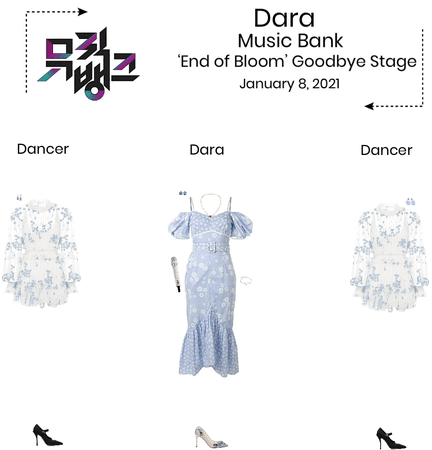 {3D} Dara - 'End of Bloom' Music Bank Goodbye Stage