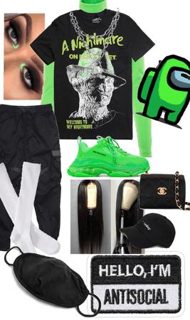 grunge meets street wear 💚