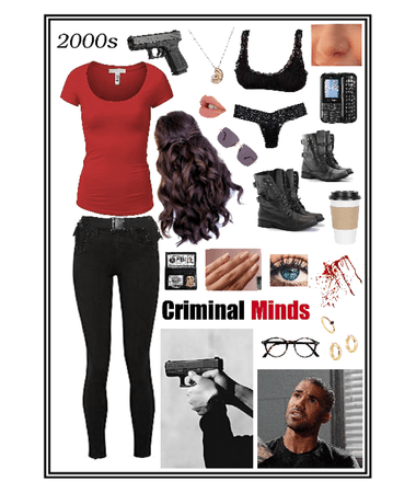 My character in Criminal Minds 🕵🏻♀️🕵🏾