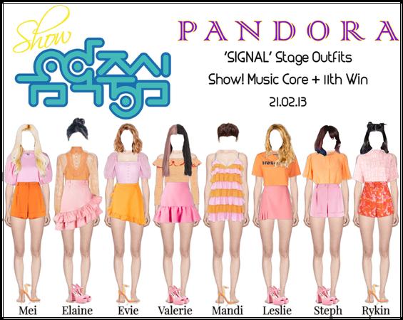 PANDORA [Music Core] 'SIGNAL' Performance