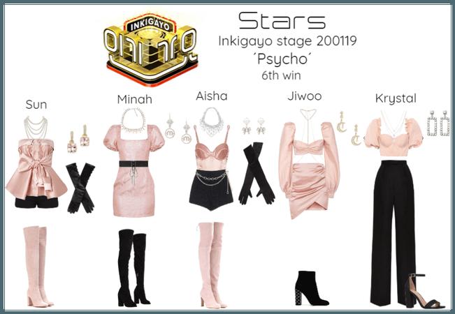 Stars - Psycho | Inkigayo stage 6th win